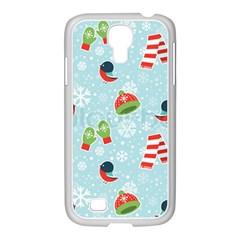Winter Fun Pattern Samsung Galaxy S4 I9500/ I9505 Case (white) by allthingseveryone