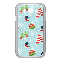 Winter Fun Pattern Samsung Galaxy Grand Duos I9082 Case (white) by allthingseveryone