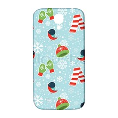 Winter Fun Pattern Samsung Galaxy S4 I9500/i9505  Hardshell Back Case by allthingseveryone
