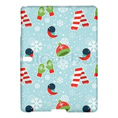 Winter Fun Pattern Samsung Galaxy Tab S (10 5 ) Hardshell Case  by allthingseveryone