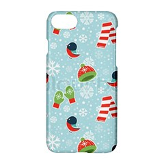 Winter Fun Pattern Apple Iphone 7 Hardshell Case by allthingseveryone