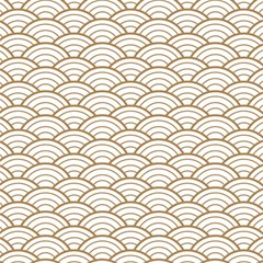 Art Deco,japanese Fan Pattern, Gold,white,vintage,chic,elegant,beautiful,shell Pattern, Modern,trendy Magic Photo Cubes by 8fugoso