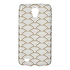 Art Deco,japanese Fan Pattern, Gold,white,vintage,chic,elegant,beautiful,shell Pattern, Modern,trendy Galaxy S4 Active by 8fugoso