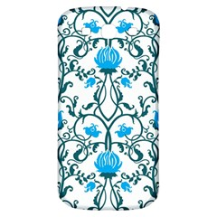 Art Nouveau, Art Deco, Floral,vintage,blue,green,white,beautiful,elegant,chic,modern,trendy,belle Époque Samsung Galaxy S3 S Iii Classic Hardshell Back Case by 8fugoso