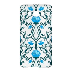 Art Nouveau, Art Deco, Floral,vintage,blue,green,white,beautiful,elegant,chic,modern,trendy,belle Époque Samsung Galaxy A5 Hardshell Case  by 8fugoso