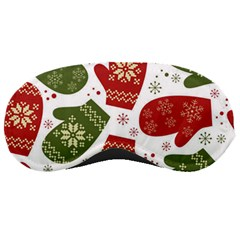 Winter Snow Mittens Sleeping Masks by allthingseveryone