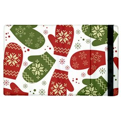 Winter Snow Mittens Apple Ipad 3/4 Flip Case by allthingseveryone