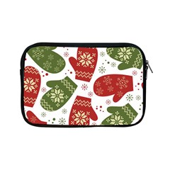Winter Snow Mittens Apple Ipad Mini Zipper Cases by allthingseveryone