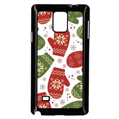 Winter Snow Mittens Samsung Galaxy Note 4 Case (black) by allthingseveryone