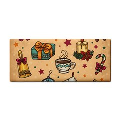 Cute Vintage Christmas Pattern Cosmetic Storage Cases by allthingseveryone