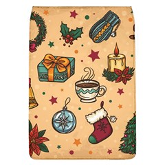 Cute Vintage Christmas Pattern Flap Covers (l)  by allthingseveryone