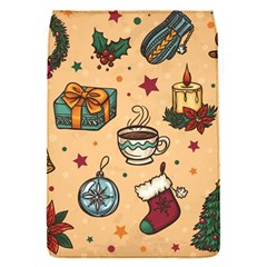 Cute Vintage Christmas Pattern Flap Covers (s)  by allthingseveryone