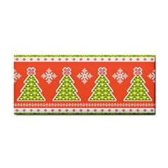 Christmas Tree Ugly Sweater Pattern Cosmetic Storage Cases by allthingseveryone