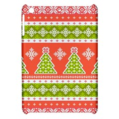 Christmas Tree Ugly Sweater Pattern Apple Ipad Mini Hardshell Case by allthingseveryone