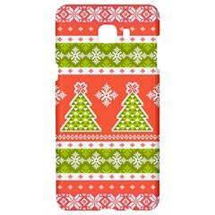 Christmas Tree Ugly Sweater Pattern Samsung C9 Pro Hardshell Case  by allthingseveryone