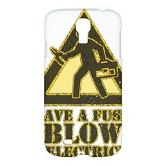Save A Fuse Blow An Electrician Samsung Galaxy S4 I9500/i9505 Hardshell Case by FunnyShirtsAndStuff