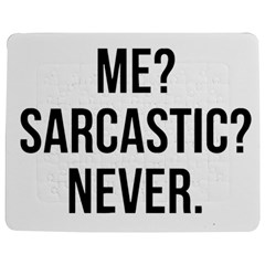Me Sarcastic Never Jigsaw Puzzle Photo Stand (rectangular) by FunnyShirtsAndStuff
