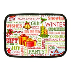 The Joys Of Christmas Netbook Case (medium)  by allthingseveryone