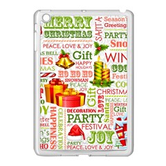 The Joys Of Christmas Apple Ipad Mini Case (white) by allthingseveryone
