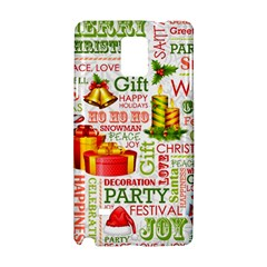 The Joys Of Christmas Samsung Galaxy Note 4 Hardshell Case by allthingseveryone
