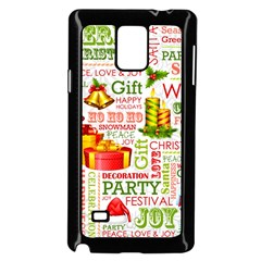 The Joys Of Christmas Samsung Galaxy Note 4 Case (black) by allthingseveryone