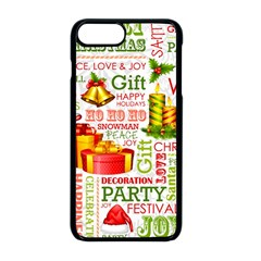 The Joys Of Christmas Apple Iphone 8 Plus Seamless Case (black) by allthingseveryone