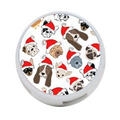 Christmas Puppies 4 Port Usb Hub (one Side) by allthingseveryone