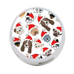 Christmas Puppies 4 Port Usb Hub (two Sides)  by allthingseveryone