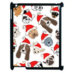Christmas Puppies Apple Ipad 2 Case (black) by allthingseveryone