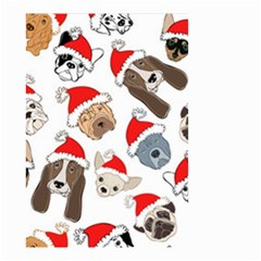 Christmas Puppies Small Garden Flag (two Sides) by allthingseveryone
