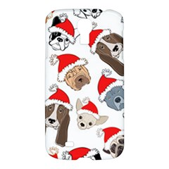 Christmas Puppies Samsung Galaxy S4 I9500/i9505 Hardshell Case by allthingseveryone