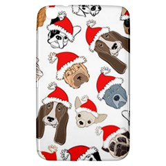 Christmas Puppies Samsung Galaxy Tab 3 (8 ) T3100 Hardshell Case  by allthingseveryone