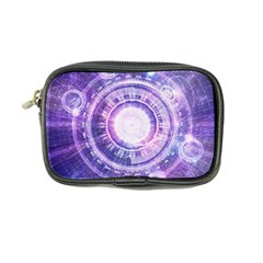 Blue Fractal Alchemy Hud For Bending Hyperspace Coin Purse by jayaprime