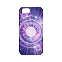Blue Fractal Alchemy Hud For Bending Hyperspace Apple Iphone 5 Classic Hardshell Case (pc+silicone) by jayaprime