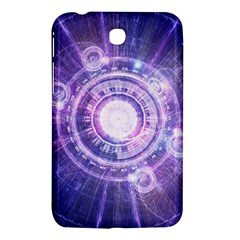 Blue Fractal Alchemy Hud For Bending Hyperspace Samsung Galaxy Tab 3 (7 ) P3200 Hardshell Case  by jayaprime