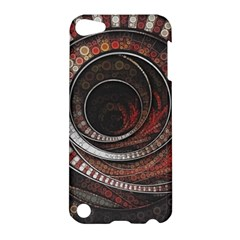 The Thousand And One Rings Of The Fractal Circus Apple Ipod Touch 5 Hardshell Case by jayaprime