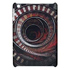 The Thousand And One Rings Of The Fractal Circus Apple Ipad Mini Hardshell Case by jayaprime