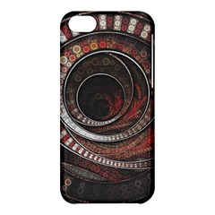 The Thousand And One Rings Of The Fractal Circus Apple Iphone 5c Hardshell Case by jayaprime