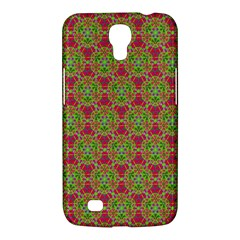 Red Green Flower Of Life Drawing Pattern Samsung Galaxy Mega 6 3  I9200 Hardshell Case by Cveti