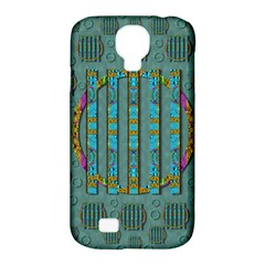 Freedom Is Every Where Just Love It Pop Art Samsung Galaxy S4 Classic Hardshell Case (pc+silicone) by pepitasart