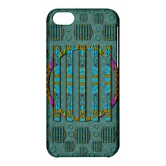 Freedom Is Every Where Just Love It Pop Art Apple Iphone 5c Hardshell Case by pepitasart