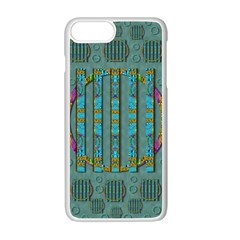 Freedom Is Every Where Just Love It Pop Art Apple Iphone 7 Plus Seamless Case (white) by pepitasart