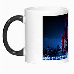 Chicago Fire With Skyline Morph Mug by allthingseveryone