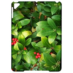 Christmas Season Floral Green Red Skimmia Flower Apple Ipad Pro 9 7   Hardshell Case by yoursparklingshop