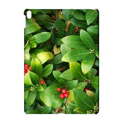 Christmas Season Floral Green Red Skimmia Flower Apple Ipad Pro 10 5   Hardshell Case by yoursparklingshop
