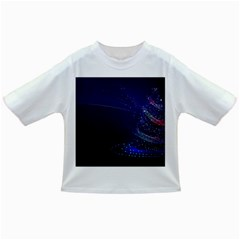 Christmas Tree Blue Stars Starry Night Lights Festive Elegant Infant/toddler T Shirts by yoursparklingshop