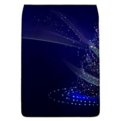 Christmas Tree Blue Stars Starry Night Lights Festive Elegant Flap Covers (l)  by yoursparklingshop
