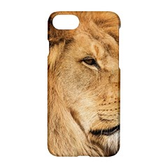 Big Male Lion Looking Right Apple Iphone 7 Hardshell Case