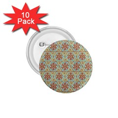 Hexagon Tile Pattern 2 1 75  Buttons (10 Pack) by Cveti