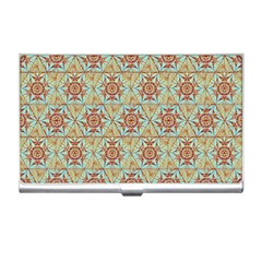 Hexagon Tile Pattern 2 Business Card Holders by Cveti
